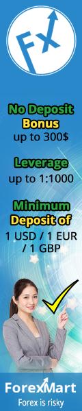 ForexMart-$300 No Deposit Bonus
